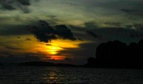 Sun sets !!!