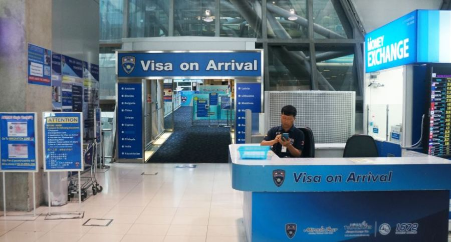 Visa on arrival_Thiland